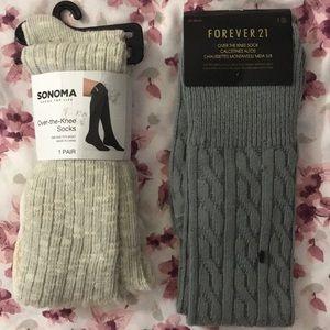 Thigh high socks bundle